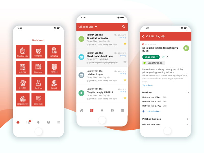 Infosoft App Mobile